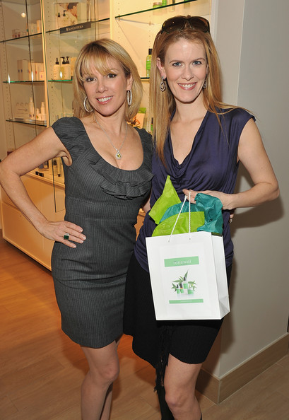 Posing with Alex after she picked up a few goodies from Tru Renewal Photo Credit:  Theo Wargo/Getty Images