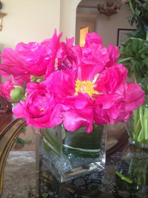 Homemade Flower Arrangements Ramona Singer