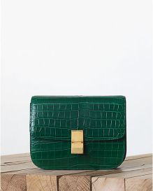 Celine-Crocodile-Emerald-Green-Box-Bag-Fall-2013